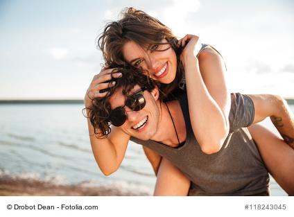 Sonnenbrillen Pärchen