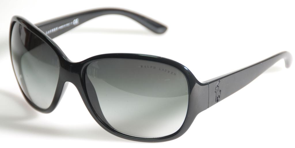 Ralph Lauren schwarze Damensonnenbrille